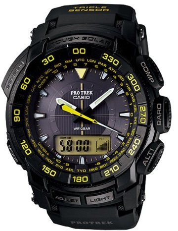 Casio (カシオ) - CASIO カシオ 腕時計 プロトレック PRO TREK アナデジ腕時計 タフソーラーPRG-550-1A9[海外モデル] [逆輸入品]